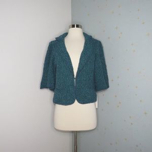 Sandro | Teal Textured Jacket